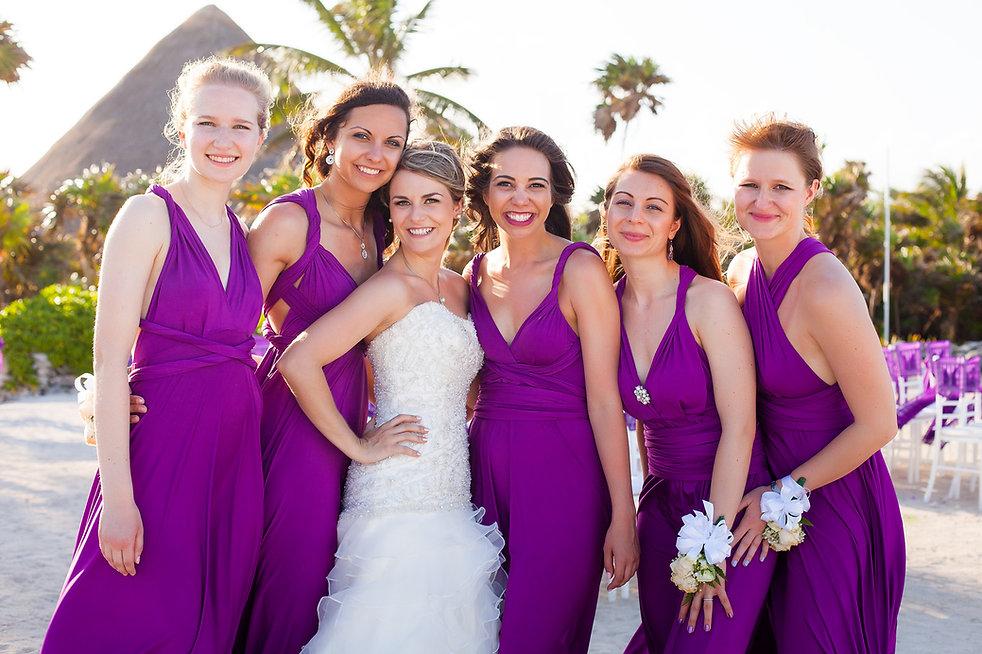 Diana + Sabin\'s Grand Sirenis Wedding Photographs