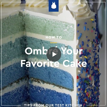 """How to Ombre a Cake"""