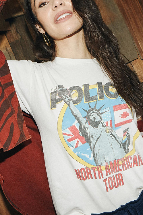 Daydreamer The Police North American Tour Weekend Tee