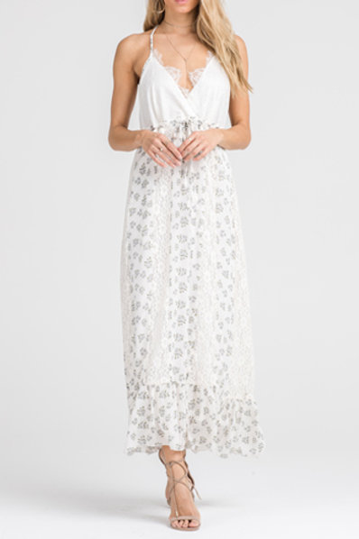 Serena Maxi in Ivory