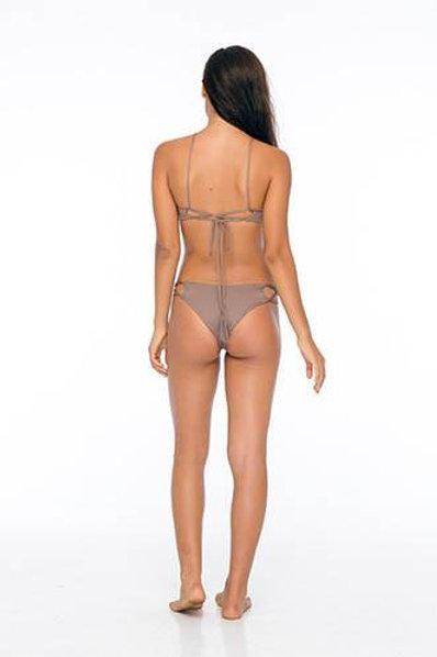 Indah Sasa Bikini Bottom in Mocha