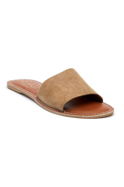 Cabana Sandal in Sand Suede