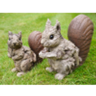 Dutch Imports Squirrel - Wood Effect