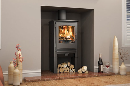 Broseley Evolution Ignite 5 Multifuel Stove log store