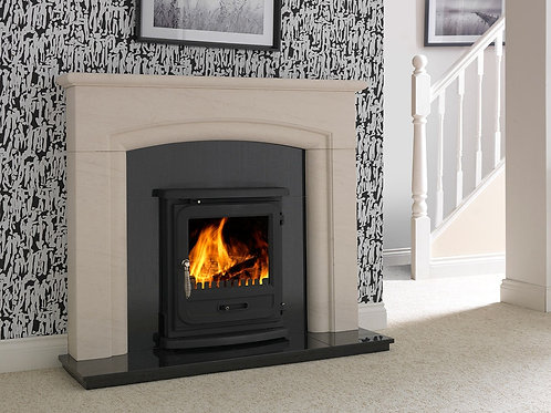 PenmanVega Edge Inset Stove Inset Stove for Clean Wood Burning and Multifuel Use