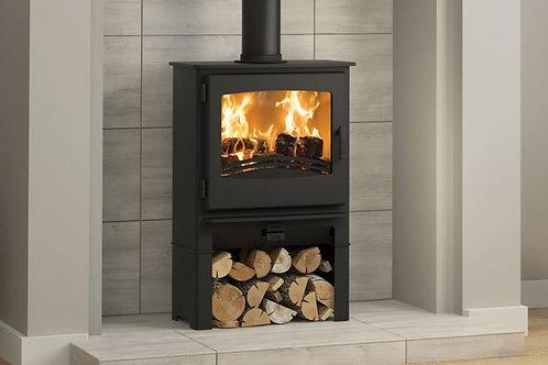 Broseley Evolution Desire 5 Widescreen Multifuel Stove log store