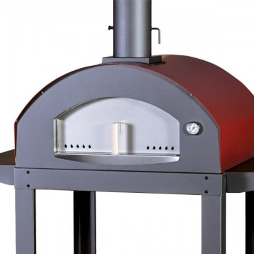 Log fired Italian designed, European crafted pizza oven range - Reaches 500 degr