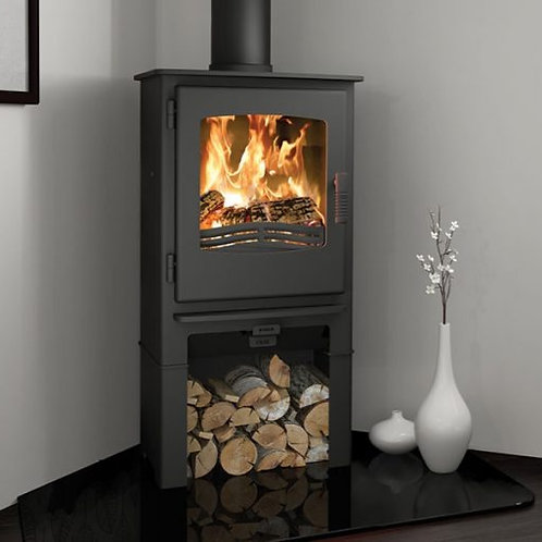 Broseley Evolution Desire 5 Multifuel Stove log store