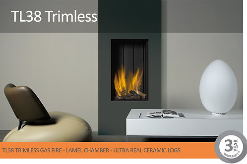 Vision Trimline TL38 Trimless Gas Fire