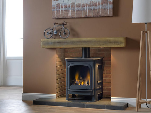 Penman Vega B7/C7 Gas Stove Flue Gas Fire with Ceramic Logs