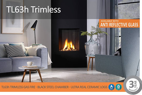 Vision Trimline TL36 Trimless Gas Fire