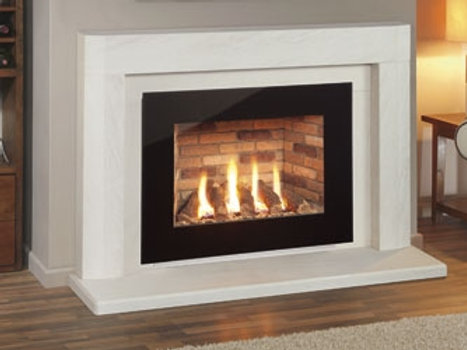 Nu Flame Synergy Perspective (LPG) Glass Trim Gas Fire