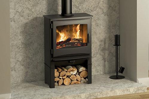 Broseley Evolution Ignite 5 Widescreen Multifuel Stove log store