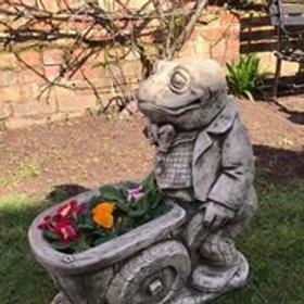 Stone Wind In The Willows Toad Wheelbarrow