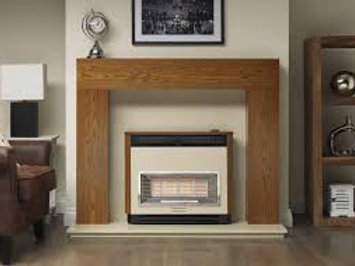 Valor Brava Radiant Electronic Outset Gas Fire
