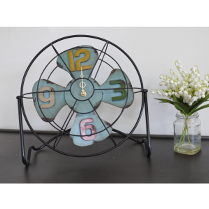 Dutch Imports Fan Clock