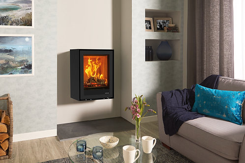 Stovax Freestanding Elise 540T Wall Mounted Wood Burning & Multi-fuel Stove