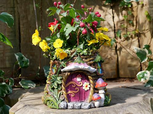 Dutch Imports Fairy House Planter