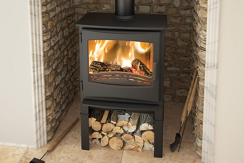 Broseley Evolution Ignite 7 Multifuel Stove log store
