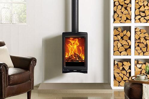 Stovax Vogue Midi T Wall Hung Wood Burning & Multi-fuel Stove