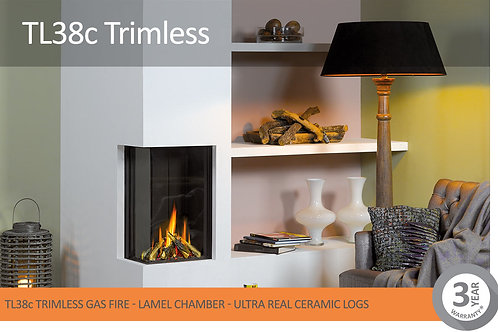 Vision Trimline TL38C Trimless Gas Fire