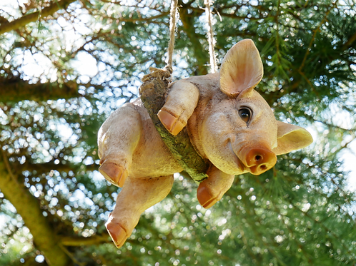 Dutch Imports Hanging Pig