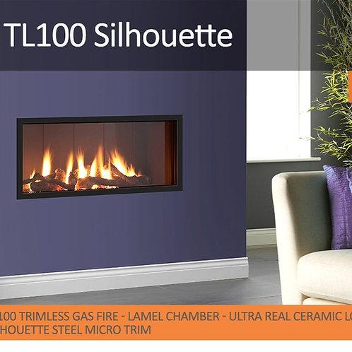 Vision Trimline TL100 Silhouette Gas Fire