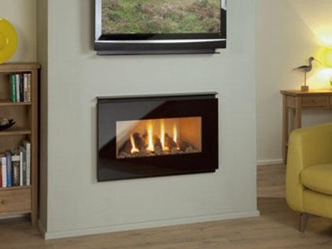 Nu Flame Synergy Ellesse (LPG) Glass Trim Gas Fire