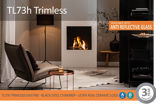 Vision Trimline TL73H Trimless Gas Fire