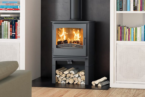 Broseley Evolution Desire 7 Multifuel Stove log store