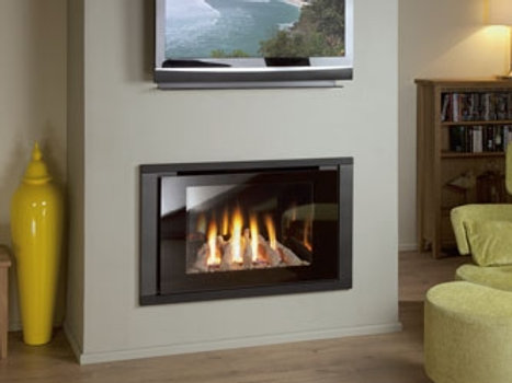 Nu Flame Synergy Perspective (NG) Echo Trim Gas Fire