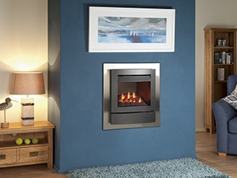 Nu Flame Vitesse Balanced Flue (LPG) Arc Trim Gas Fire