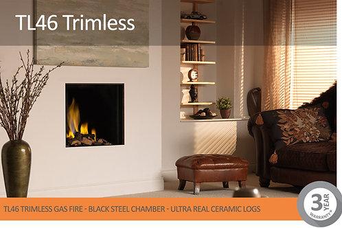 Vision Trimline TL46 Trimless Gas Fire