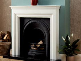 Focus Emmerdale Painted Wood Surround