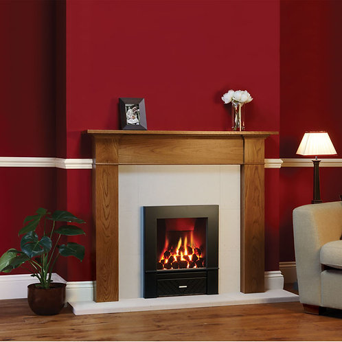 GAZCO LOGIC HOTBOX COMPLETE FRAME INSET GAS FIRE