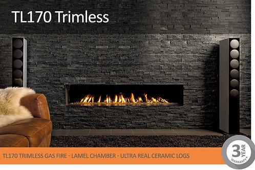 Vision Trimline TL170 Trimless Gas Fire