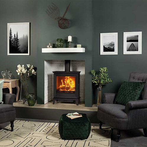 Chesterfield 5 Wide Wood Burning Stoves & Multi-fuel Stoves