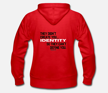 IDENTITY Hoodie  - Red Label Collection (Unisex)