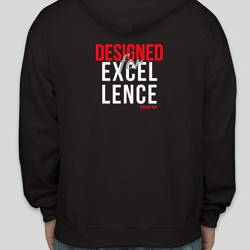 Designed4Excellence Hoodie (Men)