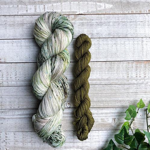 Tree Farm & Olive Branch Sock Kit