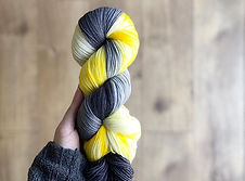 Here Comes The Sun Hand Dyed Yarn
