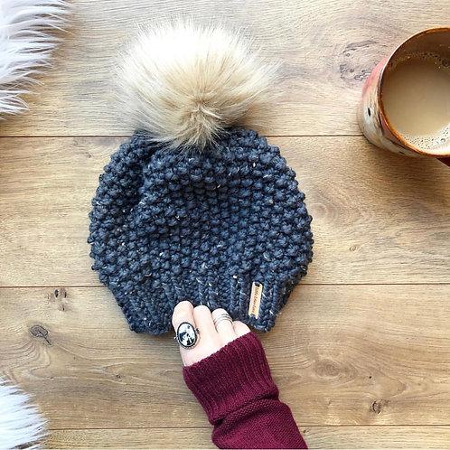 Bramble Beanie Knit Pattern