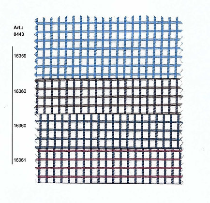 Art.0442- 0443- 0540 Доби памучен плат каре- Ρ