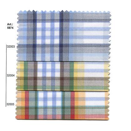 Art.: 5874 - 5875 Плат каре, памук, полиестер
