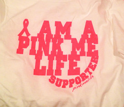 Pink MeLife Supporter