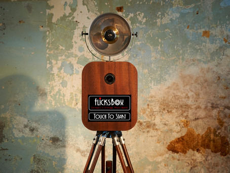 Flicksbox Photo-Booth recommended by Carbis Bay Hotel