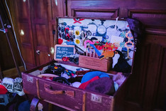 Gorgeous photo booth prop suitcase