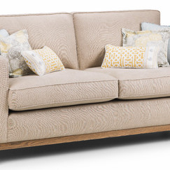 Oslo 2.5 seater sofa with scatter cushions