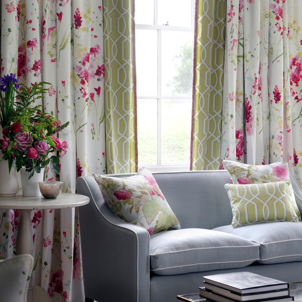 Meadow Flower curtains etc.