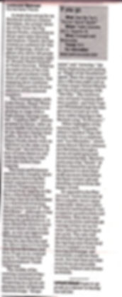 Duluth News Tribune review of Drums! Dan